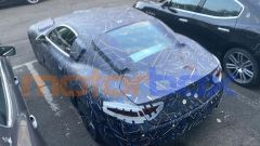 Nuova Maserati GranTurismo elettrica: la macchina è totalmente camuffata