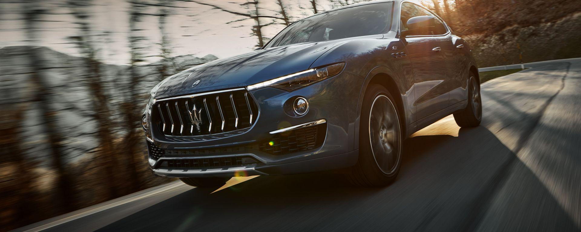 Nuova Maserati Levante Hybrid