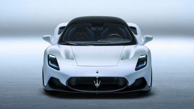Nuova Maserati MC20: il frontale aggressivo della supercar del Tridente