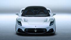 Nuova Maserati MC20: il frontale aggressivo della supercar italiana
