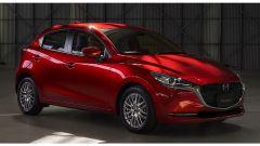 Nuova Mazda 2 2020: il facelift. Vista frontale