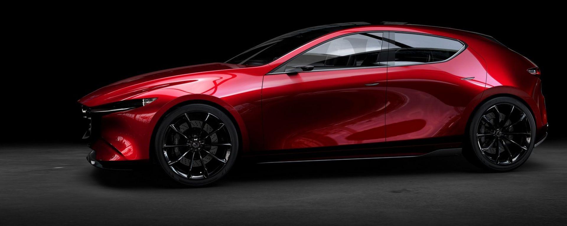 Mazda 3: la nuova generazione arriverà nel 2019