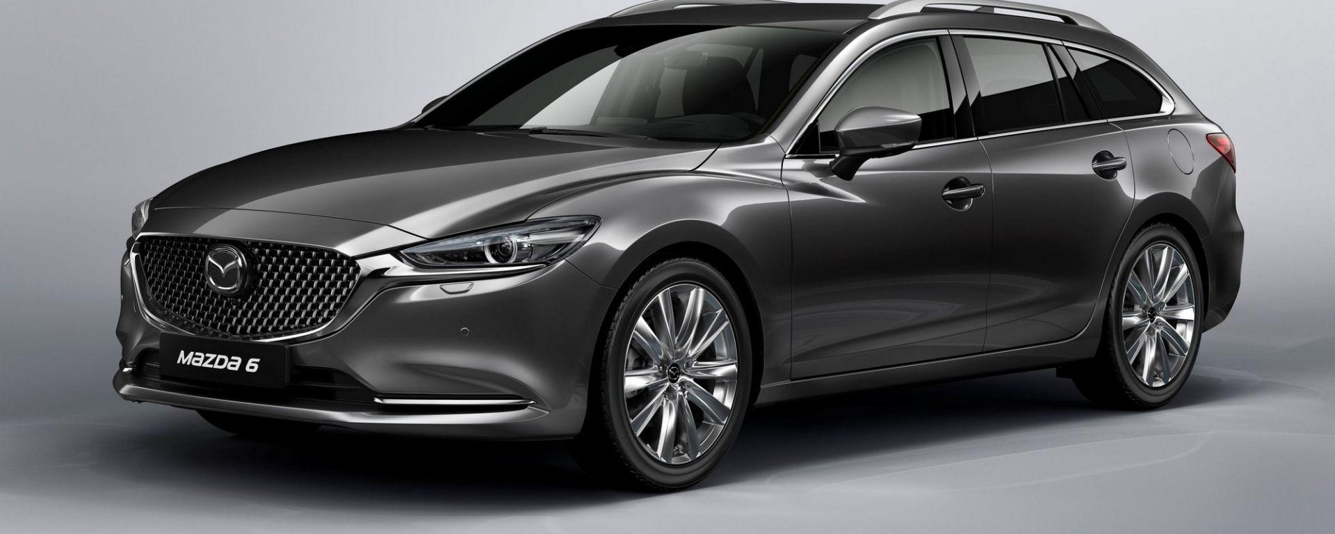 Nuova Mazda 6 Wagon 2018