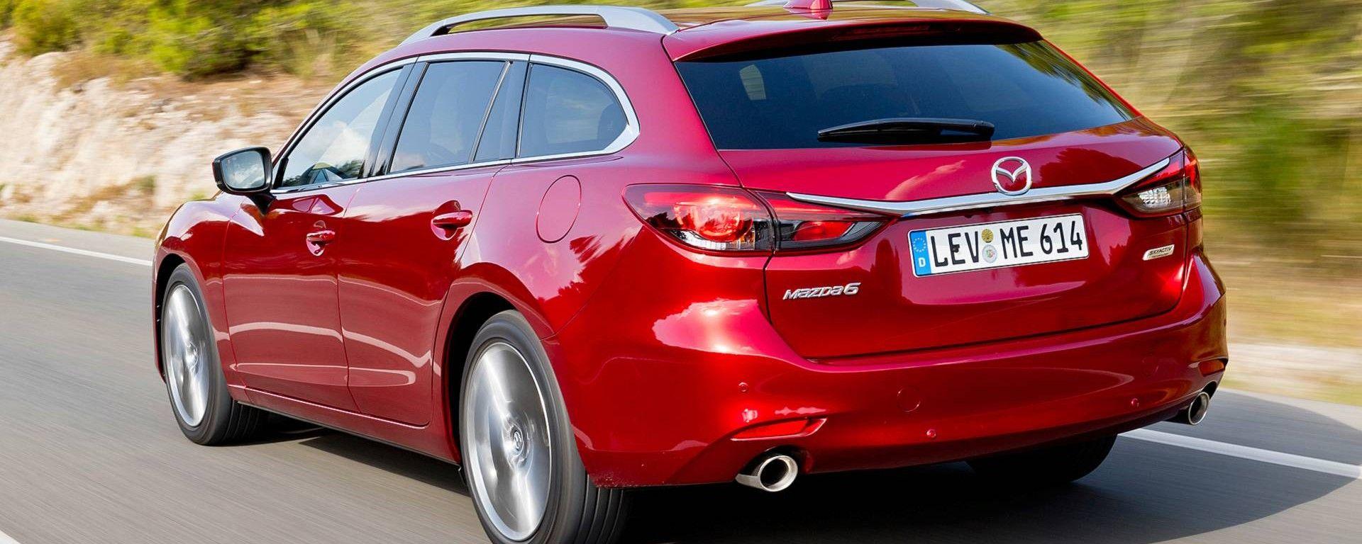 Mazda 6 Wagon: familiare premium Made in Japan