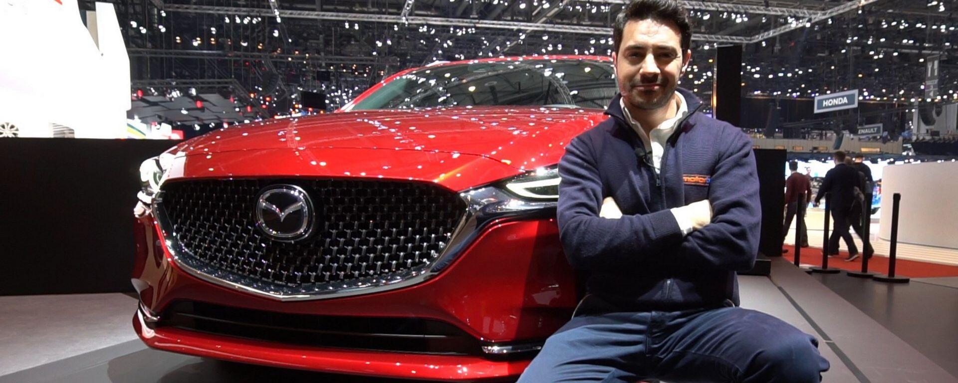 Nuova Mazda 6 Wagon: in video dal Salone di Ginevra 2018