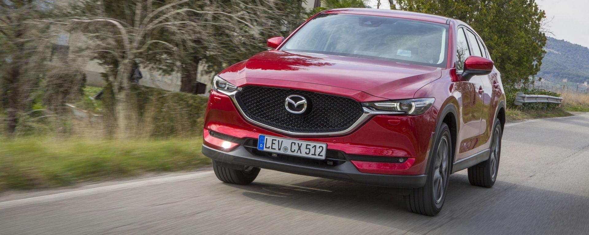 Nuova Mazda CX-5 2017: il SUV dei samurai di classe