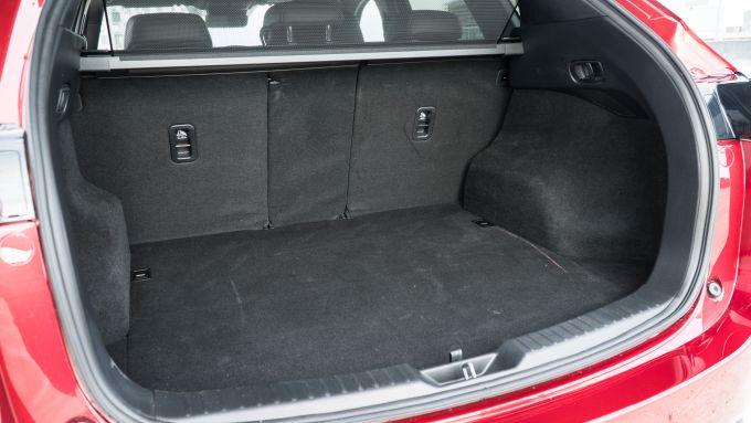 Nuova Mazda CX-5 2019: il bagagliaio