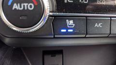 Nuova Mazda CX-5 2019: il tasto per regolare la ventilazione dei sedili