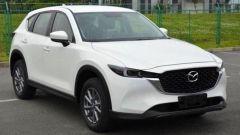 Nuova Mazda CX-5 2022: online le foto del restyling