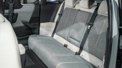 Nuova Mazda MX-30 2020 divano posteriore