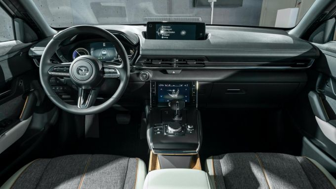 Nuova Mazda MX-30 2020: gli interni innovativi ed ecologici