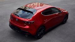 Nuova Mazda3 2019: vista 3/4 posteriore