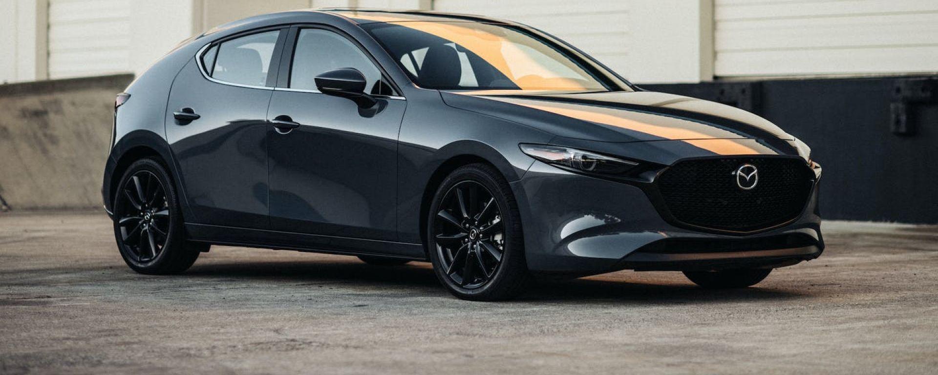 Nuova Mazda3 Turbo: il 3/4 anteriore
