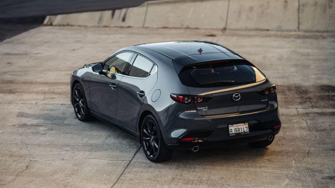 Nuova Mazda3 Turbo: il posteriore