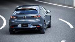 Nuova Mazda3: vista posteriore