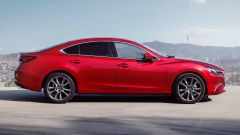 Nuova Mazda6 2017 Berlina: vista laterale