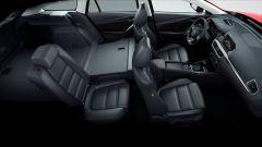 Nuova Mazda6 2017: dettaglio dello schienale posteriore reclinabile