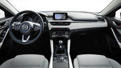 Nuova Mazda6 2017: la plancia