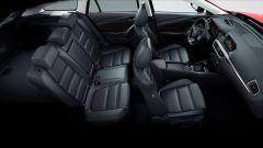Nuova Mazda6 2017: l'abitacolo dall'alto