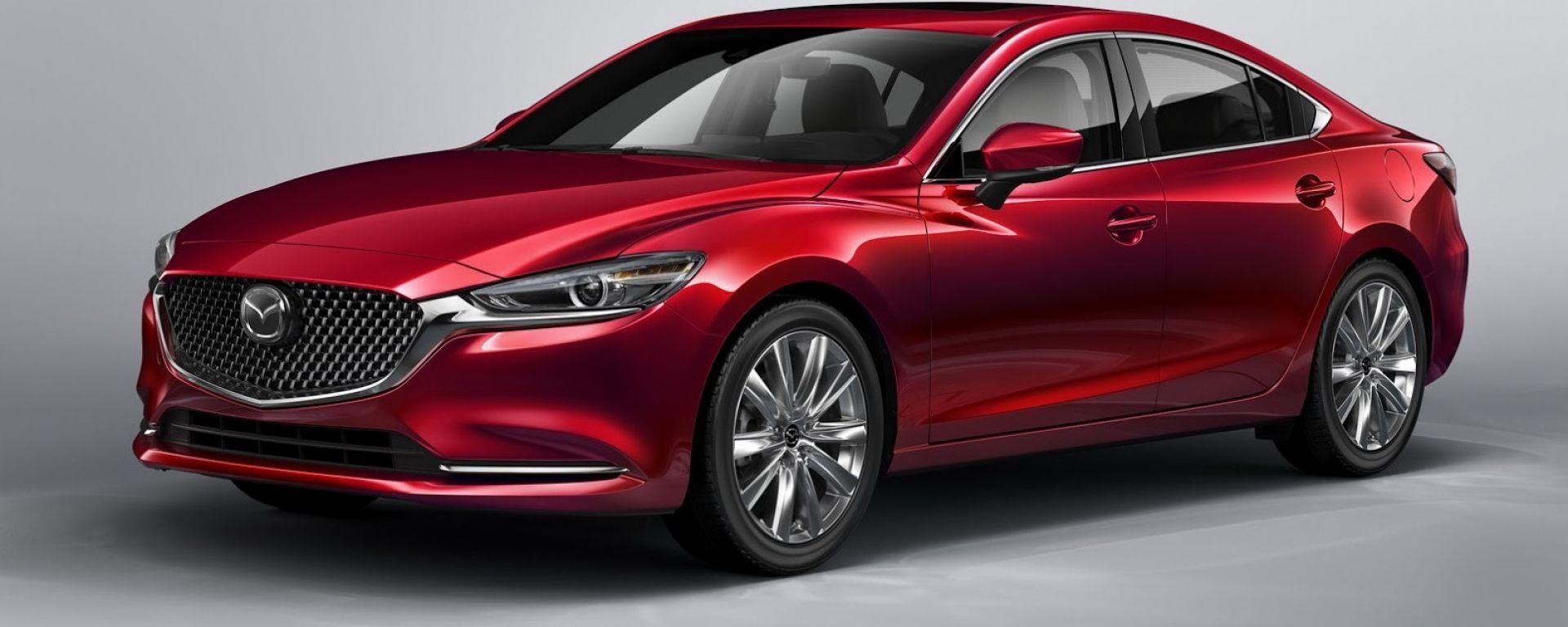 Nuova Mazda 6 2018: ecco come cambia