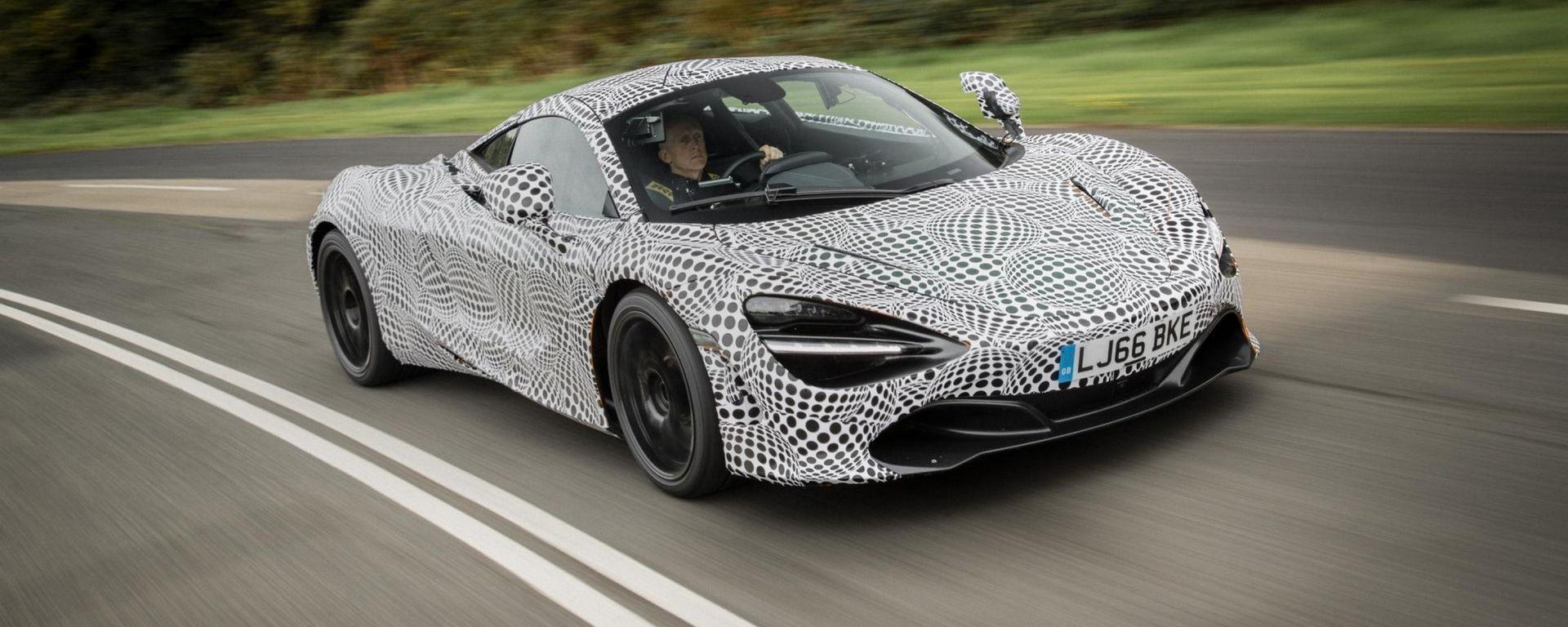 McLaren BP23: ecco l'erede della P1, sarà ibrida da 400 km/h