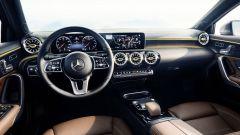 Nuova Mercede s Classe A 2018: gli interni
