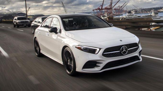 Nuova Mercedes A 200d Sedan Euro 6d: vivace su strada e parca nei consumi