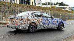 Nuova Mercedes-AMG C63: foto spia della 3/4 posteriore destra