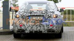 Nuova Mercedes-AMG C63: le camuffature sono ancora pesanti