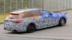 Nuova Mercedes-AMG C63: visuale di 3/4 posteriore