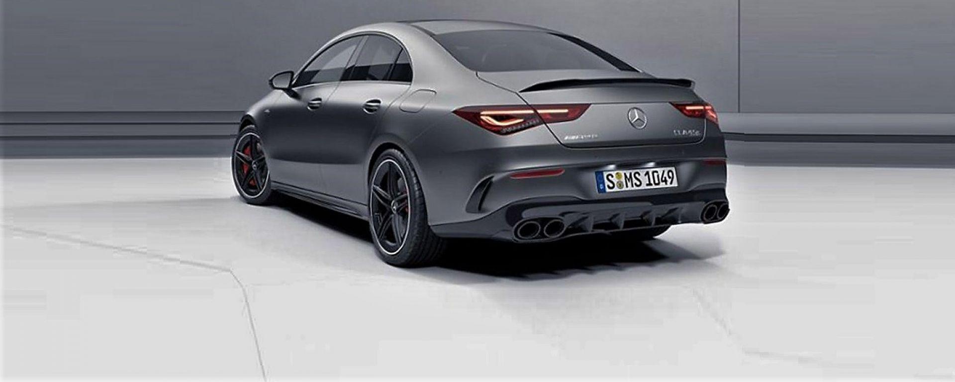 Nuova Mercedes-AMG CLA 45 la foto tratta dal configuratore