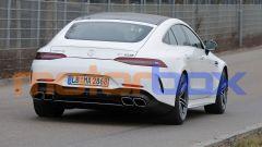 Nuova Mercedes-AMG GT 4: visuale posteriore