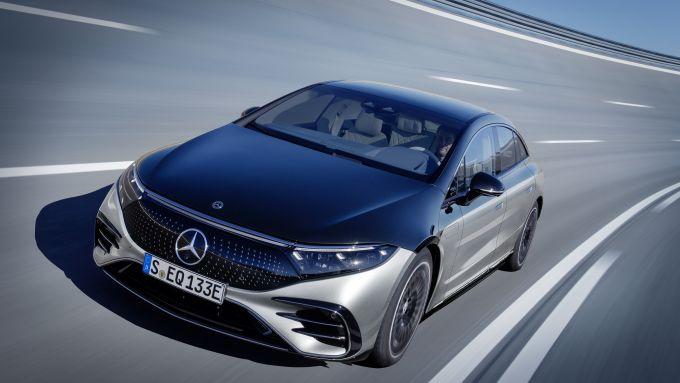 Nuova Mercedes-Benz EQS