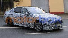 Nuova Mercedes C43 AMG: il design dei fari a LED dovrebbe essere confermato