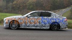 Nuova Mercedes C43 AMG: la sportiva di profilo