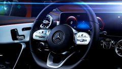 Nuova Mercedes CLA 2019, il volante multifunzione