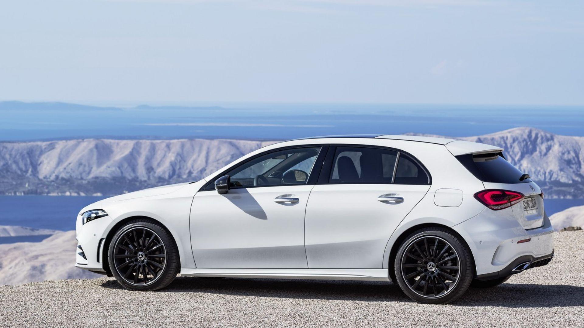 nuova mercedes classe a 2018 interni motori e tempi di