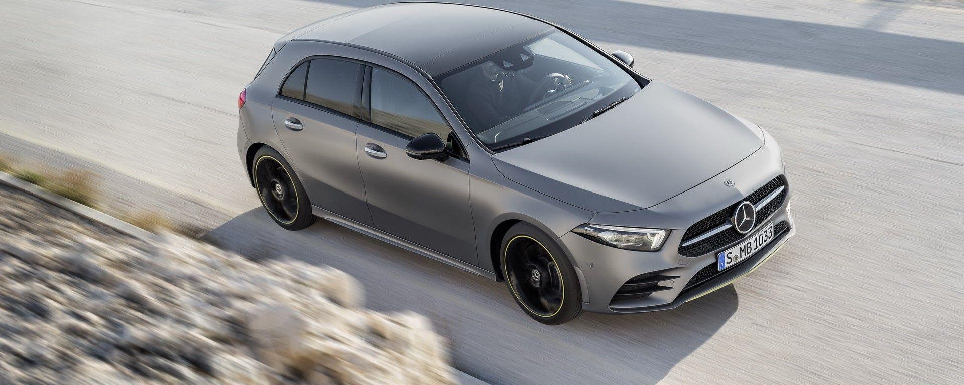Nuova Mercedes Classe A: le tecnologie di bordo