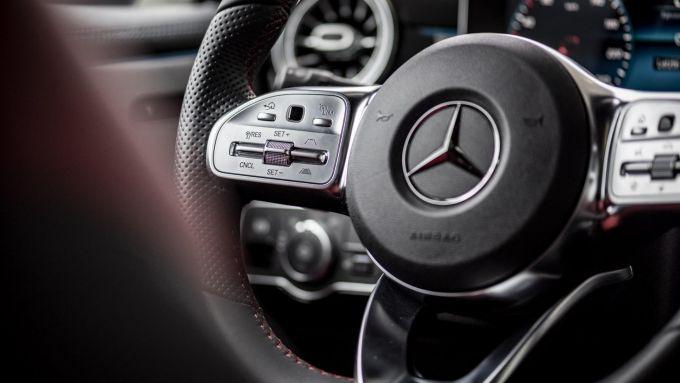 Nuova Mercedes Classe A, gli interni