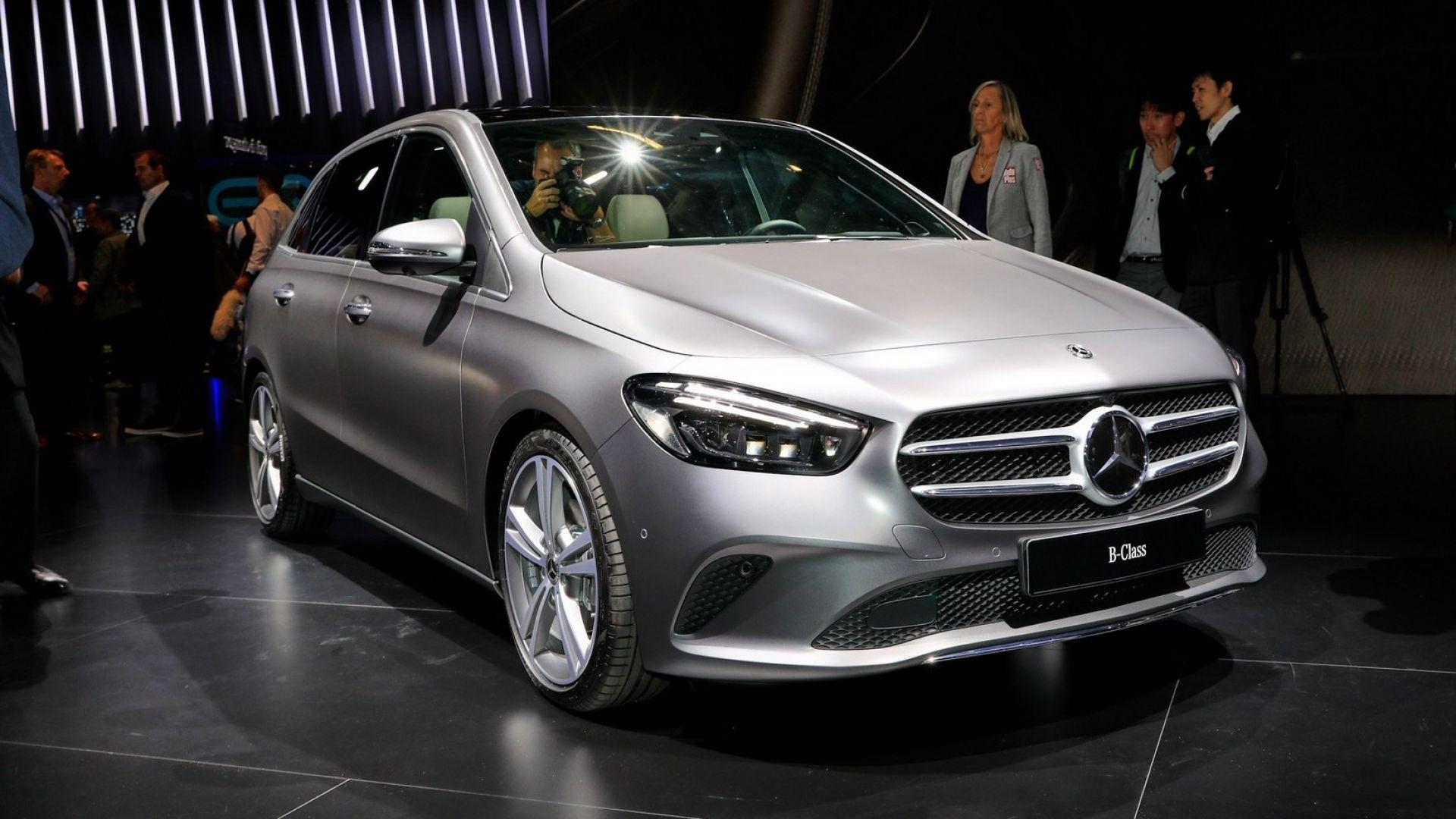 Mercedes Classe B 2019 Foto Motori Interni Prezzi