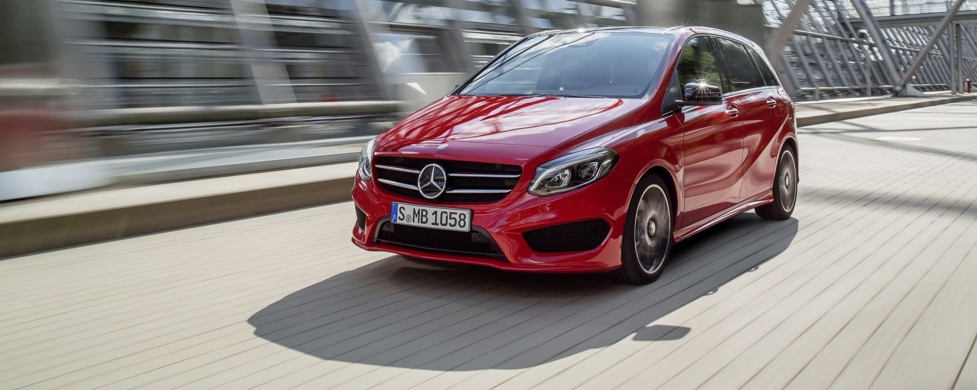 Nuova Mercedes Classe B Tech