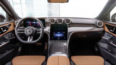 Nuova Mercedes Classe C 2021: la plancia digitale della nuova tedesca