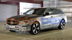 Mercedes Classe C All Terrain 2021: foto spia della wagon tedesca