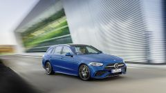 Nuova Mercedes Classe C berlina e sw: anche con trazione integrale 4Matic