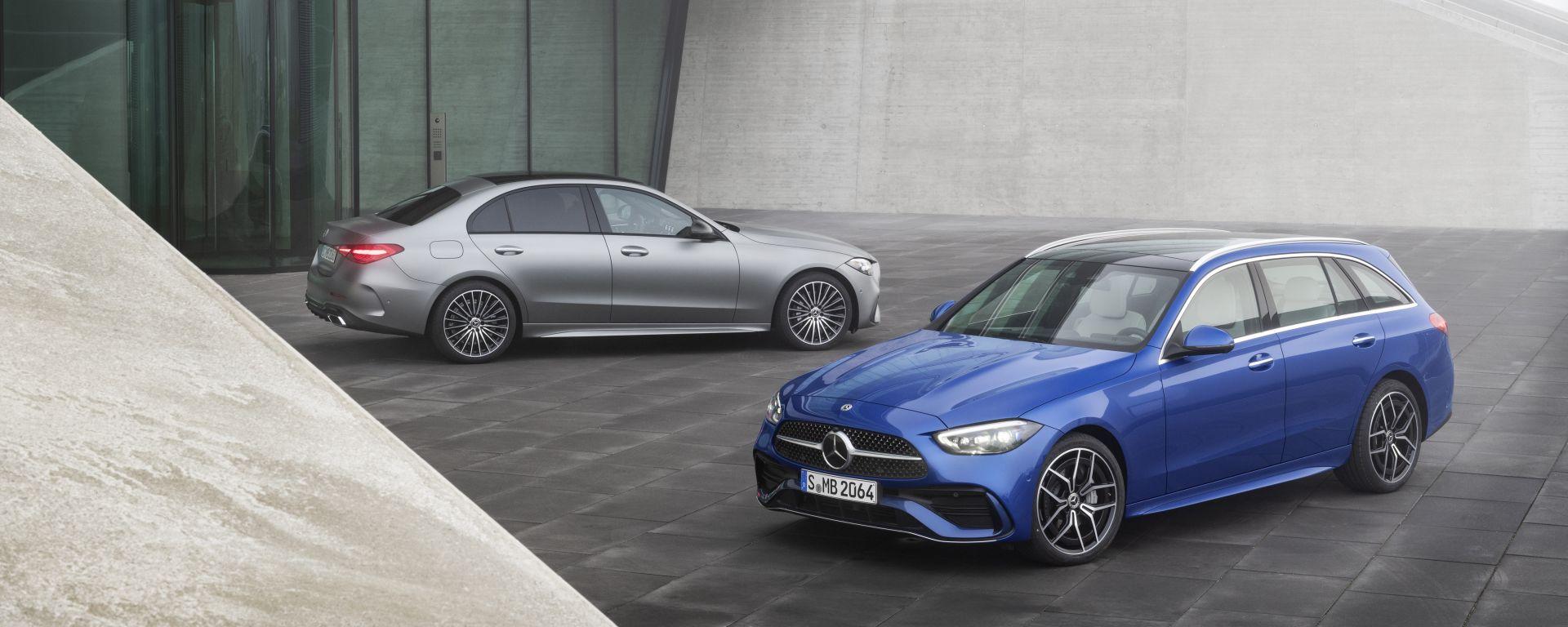 Nuova Mercedes Classe C berlina e sw: arriva la quinta generazione