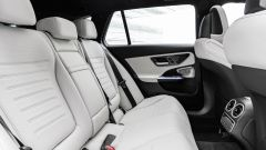 Nuova Mercedes Classe C berlina e sw: il divanetto posteriore della sw