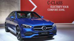 Nuova Mercedes Classe C berlina e sw: la berlina protagonista della presentazione web