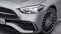 Nuova Mercedes Classe C berlina e sw: un dettaglio dei cerchi in lega