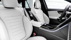 Nuova Mercedes Classe C berlina e sw: vista dei sedili