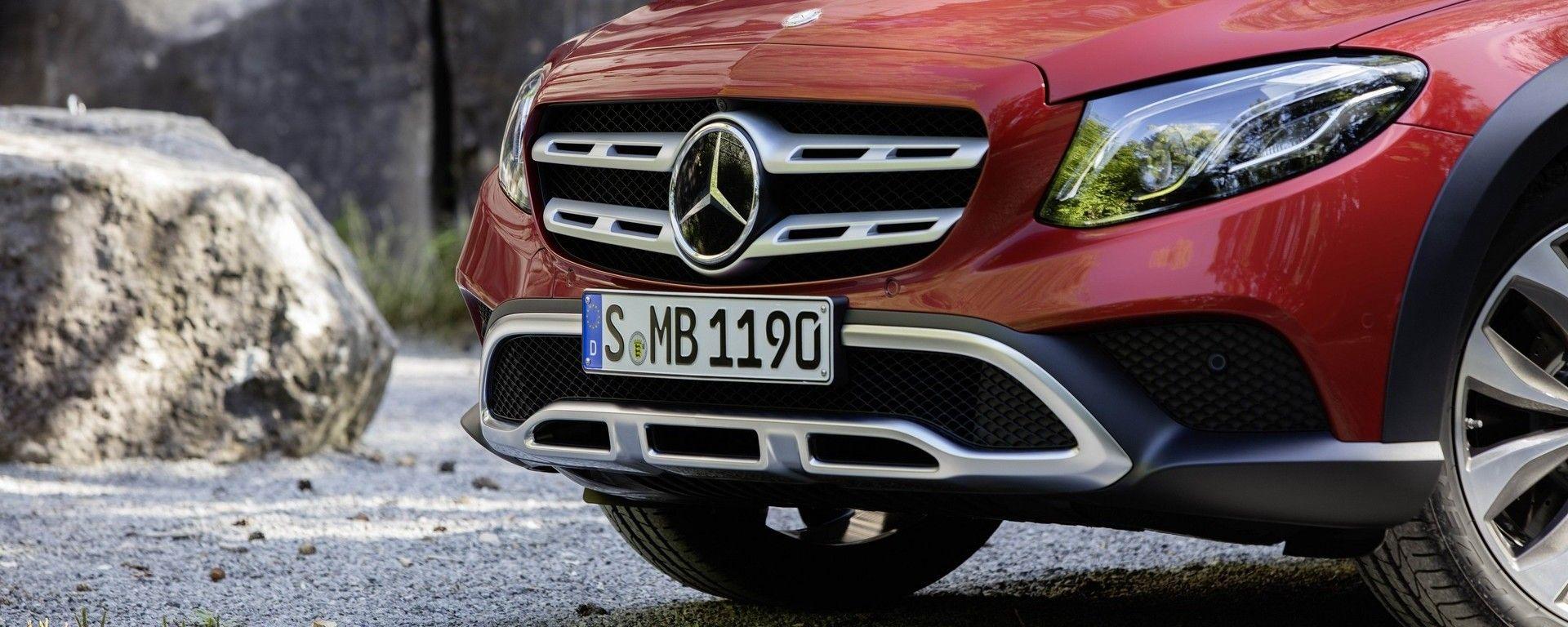Nuova Mercedes Classe C: nel 2022 sarà anche All Terrain